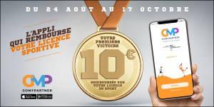 GoMyPartner : l'application qui rembourse 10€ sur ta licence sportive !